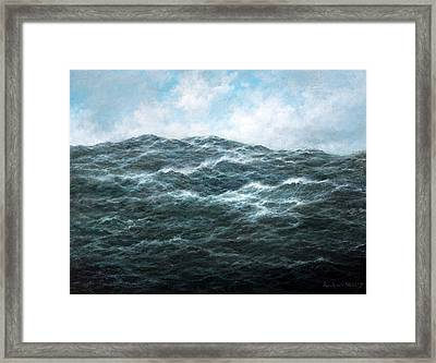 View Framed Print by Richard Willis