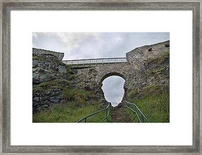 View To Heaven Ireland Framed Print by Betsy Knapp