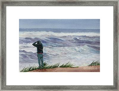 Viewing Nemo Framed Print by Karol Wyckoff