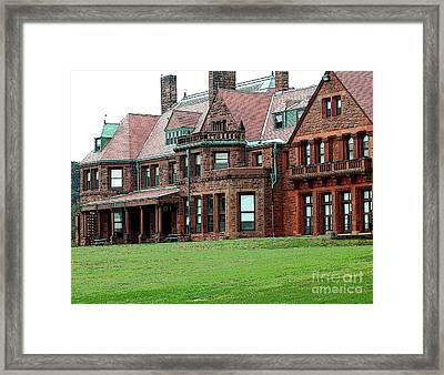 Villa Framed Print by Kathleen Struckle