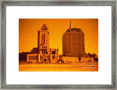Villa Riviera Framed Print by Gregory Dyer