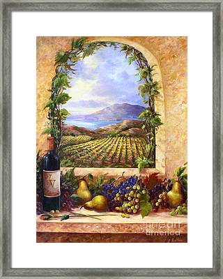 Villa View Framed Print by Gail Salituri
