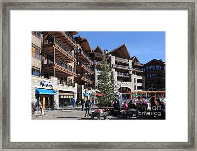 Village At Northstar California Usa 5d27743 Framed Print by Wingsdomain Art and Photography