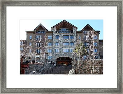 Village At Northstar California Usa 5d27748 Framed Print by Wingsdomain Art and Photography