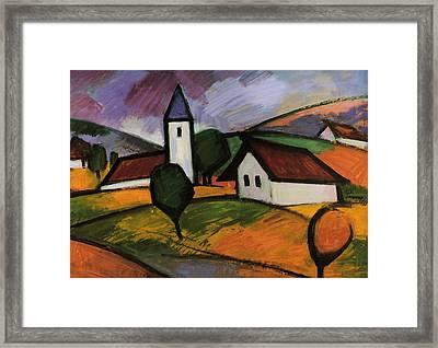 Village  Framed Print by Emil Parrag