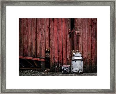 Village Still Life Framed Print by Odd Jeppesen
