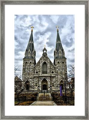 Villanova University Framed Print by Bill Cannon