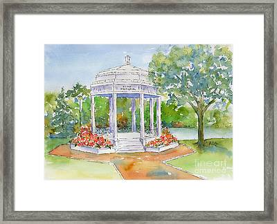 Vimy Memorial Framed Print by Pat Katz