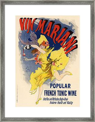 Vin Mariani Framed Print by Gianfranco Weiss