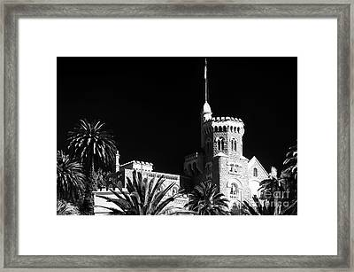 Vina Del Mar Presidential Palace Framed Print by John Rizzuto