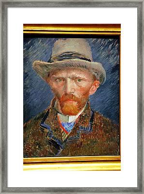 Vincent Van Gogh. Framed Print by Vincent Van Gogh