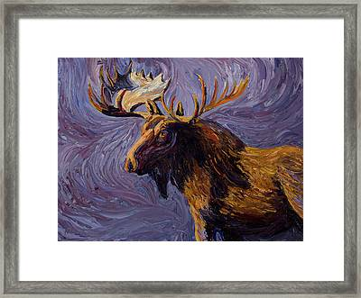 Vincent Van Moose Framed Print by Mary Giacomini