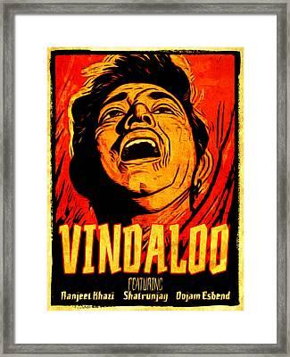Vindaloo Framed Print by Duncan Roberts