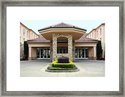 Vineyard Creek Hyatt Hotel Santa Rosa California 5d25792 Framed Print by Wingsdomain Art and Photography
