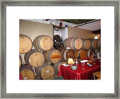 Vineyards In Va - 121226 Framed Print by DC Photographer