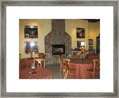 Vineyards In Va - 12123 Framed Print by DC Photographer