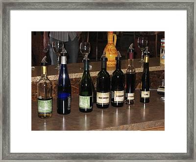 Vineyards In Va - 12126 Framed Print by DC Photographer