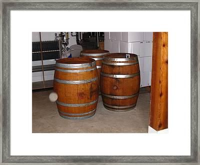 Vineyards In Va - 121266 Framed Print by DC Photographer