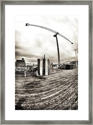 Vintage Amusement Park Framed Print by John Rizzuto