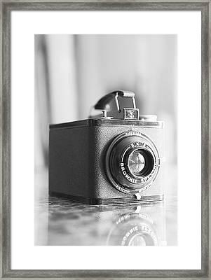 Vintage Brownie Special Six-16 Framed Print by Jon Woodhams