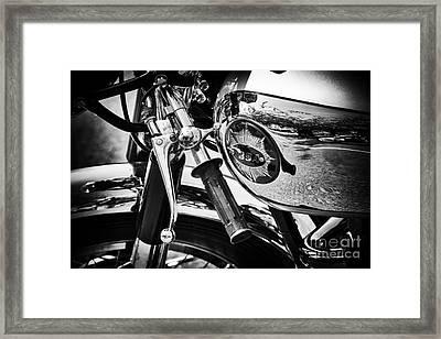 Vintage Bsa Framed Print by Tim Gainey
