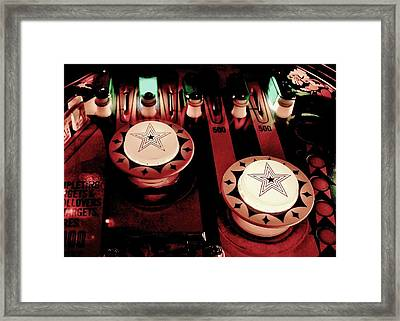 Vintage Bumpers Framed Print by Benjamin Yeager