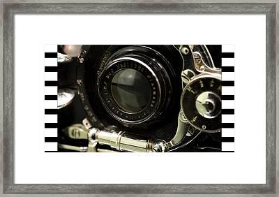 Vintage Camera Framed Print by Toppart Sweden