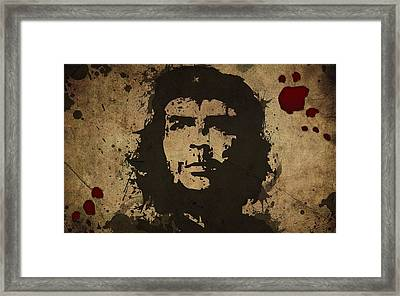 Vintage Che Framed Print by Gianfranco Weiss