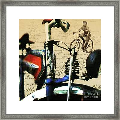 Vintage Cruiser Framed Print by Sassan Filsoof
