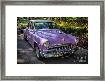 Vintage Desoto Framed Print by Adrian Evans