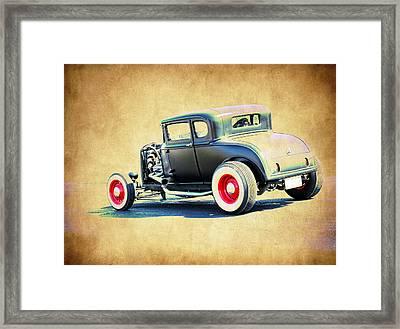 Vintage Deuce Framed Print by Steve McKinzie