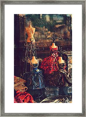 Vintage Glamour Framed Print by Maria Angelica Maira