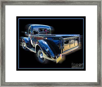 Vintage Ford Pickup Framed Print by Tom Griffithe