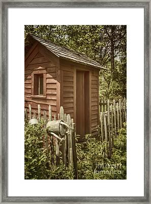Vintage Garden Framed Print by Margie Hurwich