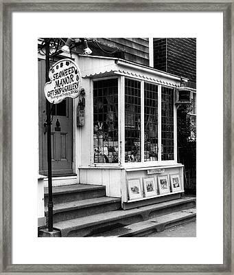 Vintage Gift Shop Fine Art Print Framed Print by Retro Images Archive