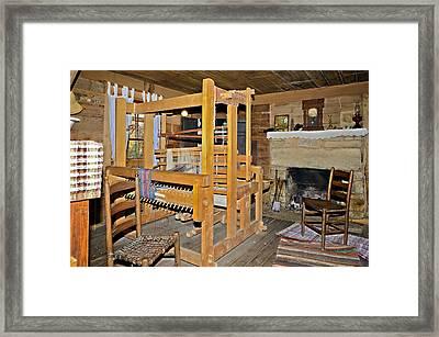 Vintage Interior Framed Print by Susan Leggett