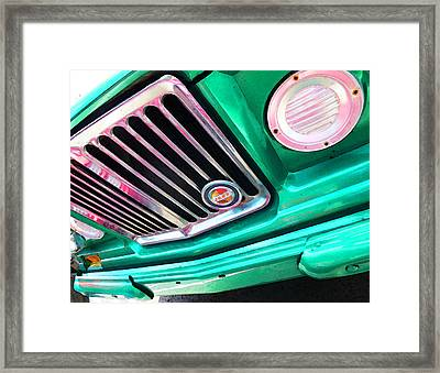Vintage Jeep - J3000 Gladiator By Sharon Cummings Framed Print by Sharon Cummings