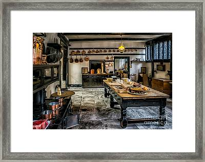 Vintage Kitchen Framed Print by Adrian Evans
