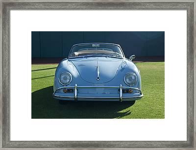 Vintage Porsche Framed Print by Jill Reger