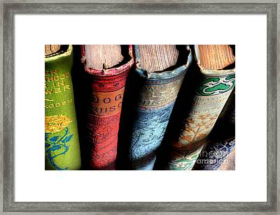Vintage Read Framed Print by Michael Eingle