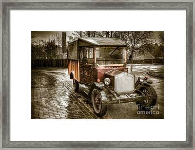 Vintage Replica Framed Print by Adrian Evans