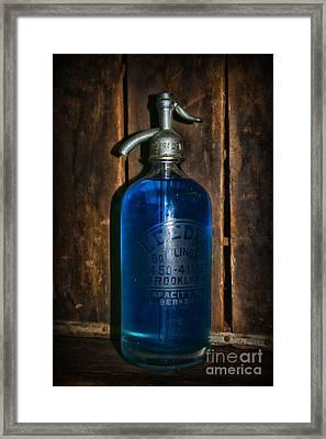 Vintage Seltzer Bottle  Framed Print by Paul Ward
