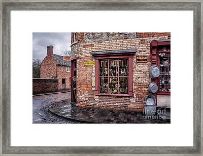 Vintage Shop Framed Print by Adrian Evans