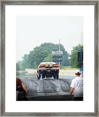 Vintage Smoke 2013 Framed Print by  Nick Solovey