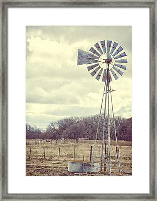 Vintage Texas  Framed Print by Kimberly Danner