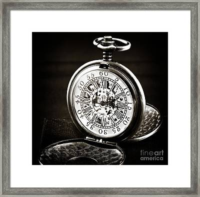 Vintage Time Framed Print by John Rizzuto