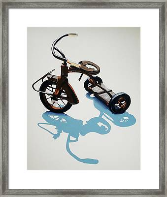 Vintage Trike Framed Print by Jeffrey Bess