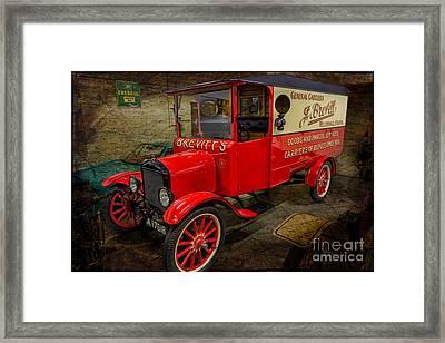 Vintage Van Framed Print by Adrian Evans