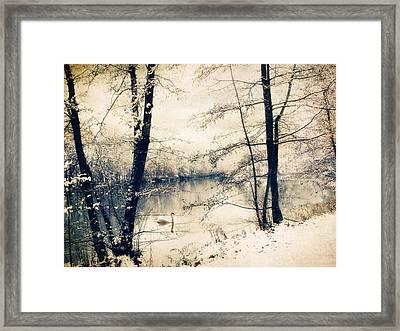 Vintage Winter  Framed Print by Jessica Jenney