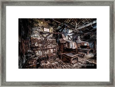 Vintage Workshop Framed Print by Adrian Evans